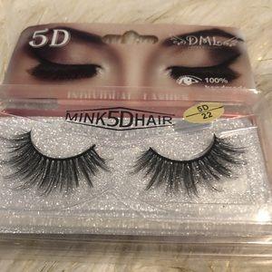 Mink Hair 5D Eyelashes (10 pairs of Eyelashes)